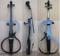 Wholesale New Solidwood Electric Cello Nice Sound Black