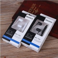 Wholesale Sony MH in ear headphones Line control earphone mm stereo headsets with Mic and volume control headphones for Samsung android