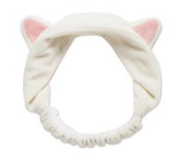 Wholesale 2016 han edition cat ear hair band cat head with makeup washs a face mask sport headband