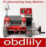 universal milling machine - Newest P1 Vertical milling machine Universal key copy machine For Locksmith any key Better than Slica Key Cutting Machine