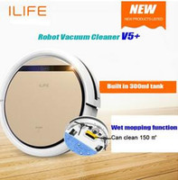 air cleaner box - DHL Freeshipping Smart Wet Robot Vacuum Cleaner Wet and Dry Clean MOP Water Tank HEPA Filter Ciff Sensor ROBOT ASPIRADOR