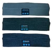 sweatbands - Bluetooth Headband Washable Sweatband with Speaker Mic Hands Free Wireless Headphones Headsets Earphone for Running Jogging Skiing Skating