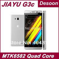 "Original Jiayu G3C G3 telefono MTK6582 Quad Core da 1.2 GHz CPU dual sim 4,5 ""grande schermo JY-G3 di trasporto IPS / Koccis"