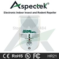 Cheap Wholesale-Electronic Ultrasonic Pest Repeller Repel Cockroaches Termites Mosquitoes Rats etc Insects Pest Control