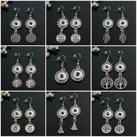 Wholesale 2016 Vocheng Small NOOSA mm Small Snaps Buttons Jewelry Earring Trend Jewelry Interchangeable E286J