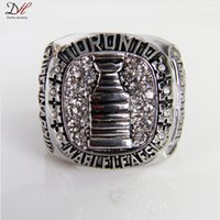 Wholesale 2015 New Arrival Sport Souvenir Horton Stanley Cup Championship Ring Rhodium Plated Alloy Rings For Men Collection Jewelry