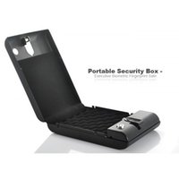 Cheap Hot!Portable Security Box Executive Biometric Fingerprint Safe Fingerprints H346