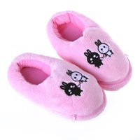 Wholesale 2015 Limited Usb Gadget Usb Gadgets Plush Foot Warmer Shoes Soft Electric Heating Slipper Cute Rabbits Pink free Drop Shipping