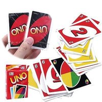 Wholesale Standard Fun UNO Playing Cards Game For Travel Family Friend Instruction