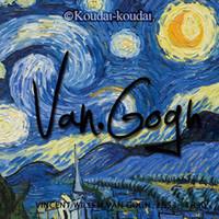 Sample Retail artists greeting cards - Koudai Koudai Vincent van Gogh paintings Artist Series postcards set greeting card