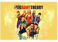 big bang theory vinyl - Big Bang Theory Painting Luxary Home Decoration Fashion Custom Poster Print Size x60 cm Wall Sticker