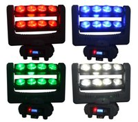 Wholesale ship by FEDEX DJ stage light Led spider moving head beam light W RGBW spider Led disco light DMX part spider moving head stage light