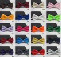 Wholesale 100pcs NEW Fashion Arrival cheap Male Wedding Bowties Men s Ties Men s Bow ties Men s Ties Many Style Dress Bowtie Groom bowtie colors R14