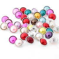 Wholesale Noosa MIX Colors Small mm Snap Interchangeable Buttons Snap Jewelry Custom Snap Button fit for any noosa bracelet BX