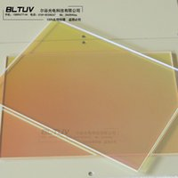 Wholesale Supply UV uv reflective aluminum sheet lampshade uv curing machine dedicated reflectors coated quartz plate