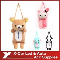 bamboo hanging chairs - Auto Supplies Automotive Tissue Boxes Cartoon Back of the Chair Hung Smoke Box Receive Bag Car Papers Bag Holder Accessories