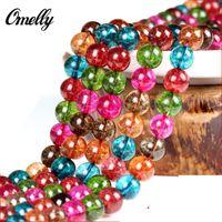 Wholesale Tourmaline Stone Natural Semi Precious Loose Bead Gemstone DIY Bead for Bracelet Necklace Discount Colorful Bead Jewelry