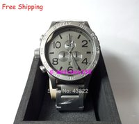 Wholesale NX Men s A083 Quartz Watches THE CHRONO Matte Black Matte Gunmetal CHRONOGRAPH Original Box A0831062