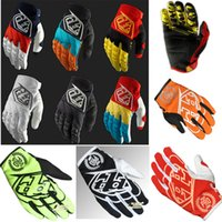 Wholesale 2014 Newest Troy Lee Designs Men s GP Gloves Motocross glove Bomber Motorcycle Gloves moto dirt bike Bicycle gloves