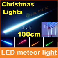 Wholesale christmas decoration cm led meteor shower light set with driver waterproof LED meteor Light