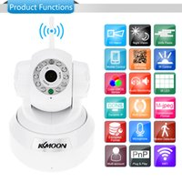 Wholesale KKMOON HD MP IP Camera PnP P2P Pan Tilt IR Cut WiFi Wireless Network IP Webcam CCTV Security Cameras Surveillance