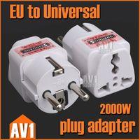 belgium power adapter - Wall socket Adapter EU convert to Universal high power Ac power plug converter Germany France Belgium Denmark Spain Ukraine