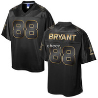 Wholesale 2016 Men s Pro Line Black Gold Collection Dallas Dez Bryant Jerseys Football Jerseys Good Quality