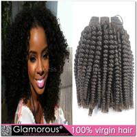 Curly Mongolian Hair machine Cheap Price Peruvian Indian Malaysian Brazilian Mongolian Kinky Curly Hair Weave Remy Hair Extensions 3 bundles lot Virgin Human Hair