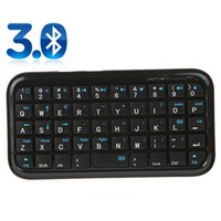 Wholesale Ultra Slim Mini Bluetooth Keyboard For Iphone PS3 Android OS PCPDA DNPJ0011