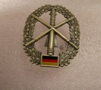 air force berets - The German metal badge badge Germany active land air defense forces Beret Badge