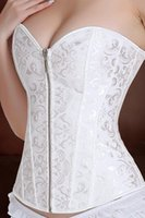 Cheap Wholesale-2015 New Bridal Corset for Formal Dress Plus Size Brand Bridal Strapless Bras for Wedding Dress S0035#