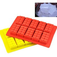 Wholesale Hot sale Building Block Mold Silicone Cooking Tools Ice Cream Tools Ice Molds Cake Mould Cooking Tools Tools