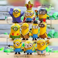 acrylic articles - 2016 latest style god steal dads despicable me d creative cartoon Key chain Furnishing articles gift yellow people YCK41