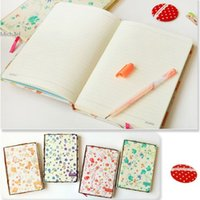 Wholesale Korea Creative Stationery Pastoral Style Journal Planner Diary Daily