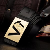 Wholesale 2015 New luxury for men leather casual fashion waistband Genuine Leather Belts high quality