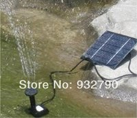 Wholesale Solar Panel Power Submersible Fountain Pond Water Pump Delicate for Garden Pond order lt no track