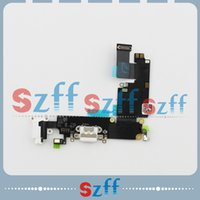 Wholesale Hot Sale Charger Dock Flex Cable For iPhone Charging Port with Headphone Jack Tail Plug Flex Cable version free shiping