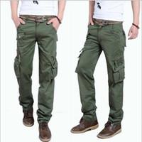 Wide Leg cargo pants for men - Plus Size Pants Men Korean Pants For Men Cargo Pants Casual lose sport Pant Hip Hop Male Pants MY