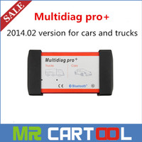 Wholesale 2015 Hot Selling V2014 Multidiag Pro For Car And Trucks And OBD2 With Bluetooth Diagnostic Scanner Better Than Autocom CDP