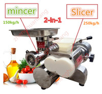 Wholesale W v v Meat cutting machine in meat cutter for slicing mincing grinding shredding BT200