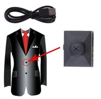 Wholesale 1080P Button Camera Mini Hidden Camera with TF Card Slot Motion Detection and Loop Recording