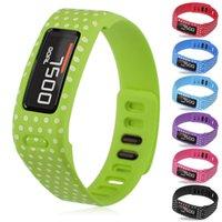 Wholesale Replacement Silicone For Garmin Vivofit Smart Bracelet Wrist Band Strap Wristband With Clasp Size L S