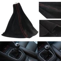 Wholesale Universal Gear Head Dust Cover Frosted Leather Gear Shift Knob Boot Car Modified