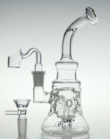 oil - scientific glass bong glass recycler toro new glass bong oil rig diamond glass pipe with quartz nail and toro bowl mm joint