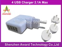 Cheap USB charger Best 4ports usb ac charger