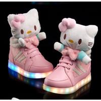 Wholesale 2015 New Best Sale Cartoon Led Shoes Children USB Charging Led Luminous Shoes Kids Lights Shoes Children emitting shoes