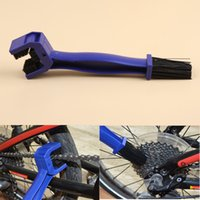 Wholesale Cycling Motorcycle Bicycle Chain Crankset Brush Cleaner Cleaning Tool Blue Practical Tools Drop Shipping TOOL