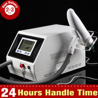 Wholesale High Quality Beauty Spa Tatto Removal Q switch Yag Laser Lipline Eyebrow Removal Pigment Freckle Treatment Machine