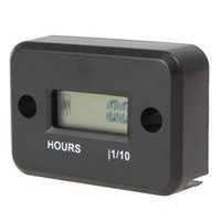 Wholesale LCD Display Waterproof Inductive Tach Hour Meter for Marine ATV Motorcycle Snowmobile OUT_140