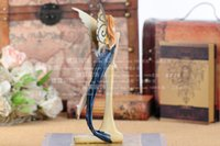 polyresin statue - Charming Beauty Fairy Figure Statue Polyresin Art and Craft Embellishment Accessories Furnishing for Home Decoration and Gift